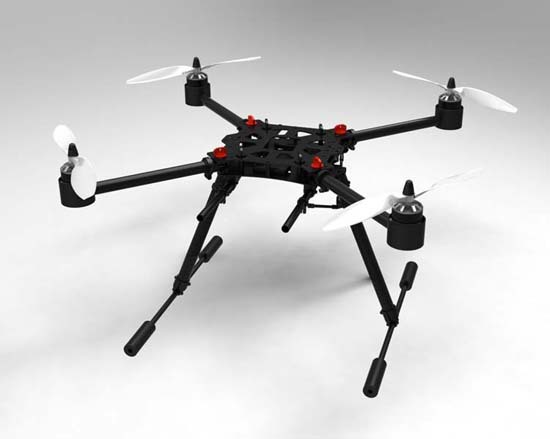 aliexpresscom buy flycker mh550 rc quadcopter drones brushless quadrocopter diy foldable multicopter ufo carbon fiber drone uav frame kit hobby from