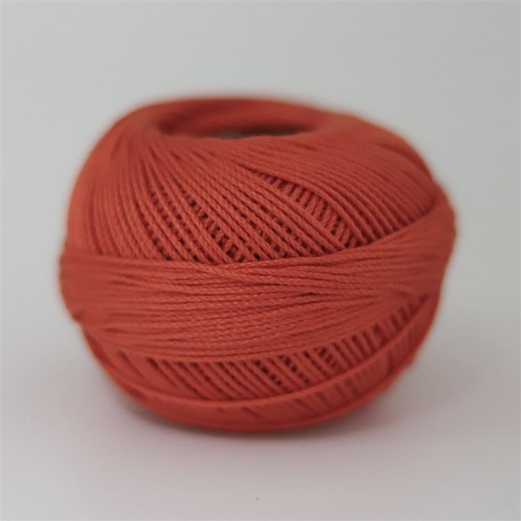 Размер 3 хлопковая Жемчужная Нить египетская длинная Штапельная хлопковая пряжа газированная двойная мерсеризованная 6 нитей плетение 50 грамм на шарик - Цвет: 702