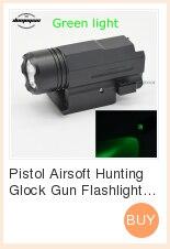 combinação caça acessórios para pistola glock 17,19, 20,21, 22,23, 30,31, 32