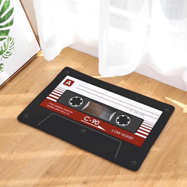 Tapis de sol Vintage «Cassette» antidérapant