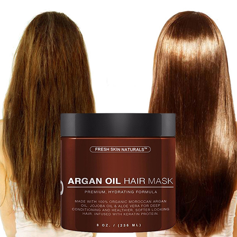 100% Pure Organic Argan Oil Moisturiser Essential Oil 236ml Women Hair Care Hairy Treatment Treatment For Hairdressing Styling