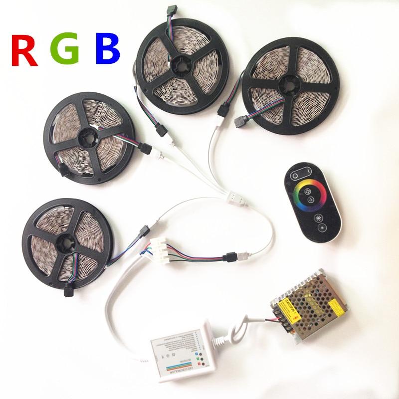 20M 15M 10M RGB Led juostiniai žibintai 5050 fita de led juosta DC - LED Apšvietimas - Nuotrauka 2