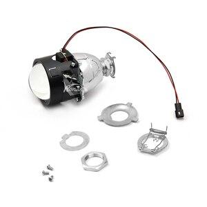 Image 3 - RONAN 2.5 HID xénon ultime Bi xénon projecteur lentille Parking voiture style phare bricolage lampe pour h1ampoule avec carénages H4 H7 prise