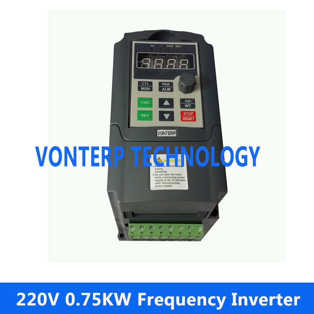 цена на VTP5M-0R7-G1 220v 4A 0.75kw 1 phase and 220v 3 phase output frequency converter/ac motor drive