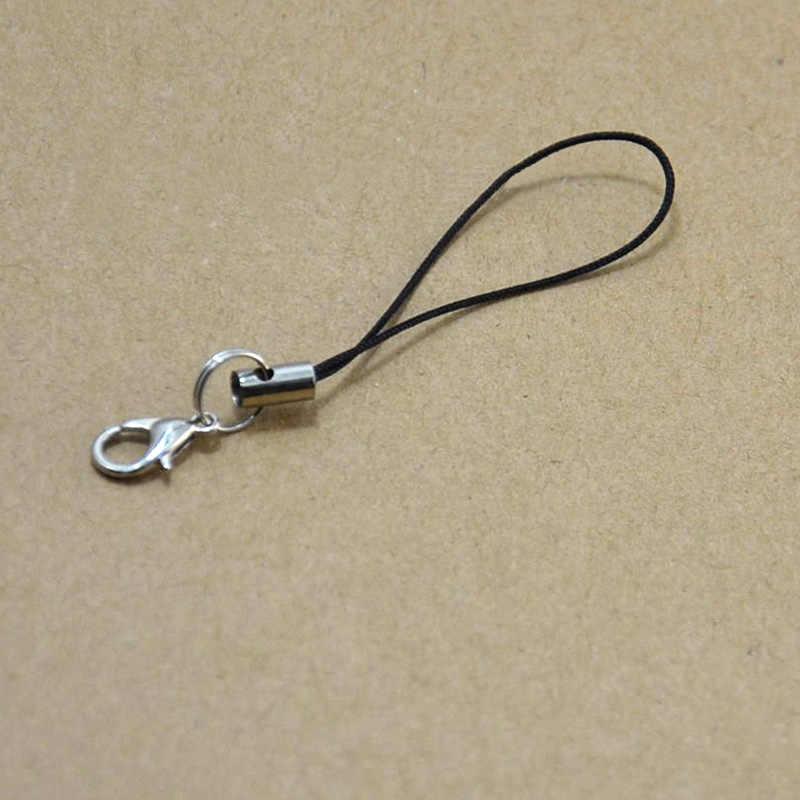 2 pçs/lote DIY Fecho Da Lagosta Para Fazer Jóias Ornamentos Cadeia Anel Chave Chaveiro Chaveiro Mulheres Bolsa Carteiras de Telefone Acessórios