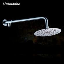 Настенный душевой кронштейн из нержавеющей стали хромированные аксессуары для ванной комнаты душевая головка фиксированная труба держатель для душа