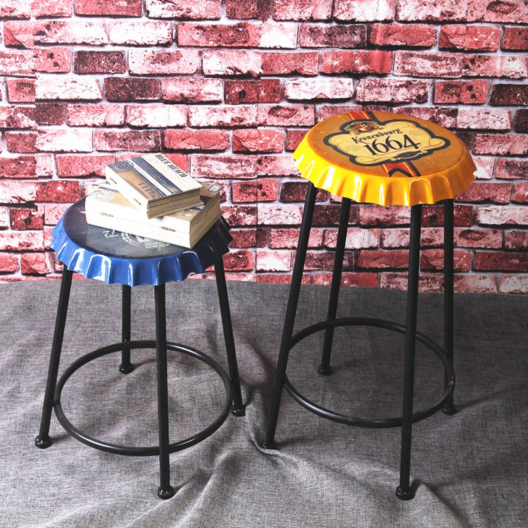 Loft American country retro style bar stool bar seat cover other beer iron decorative ornaments wholesale