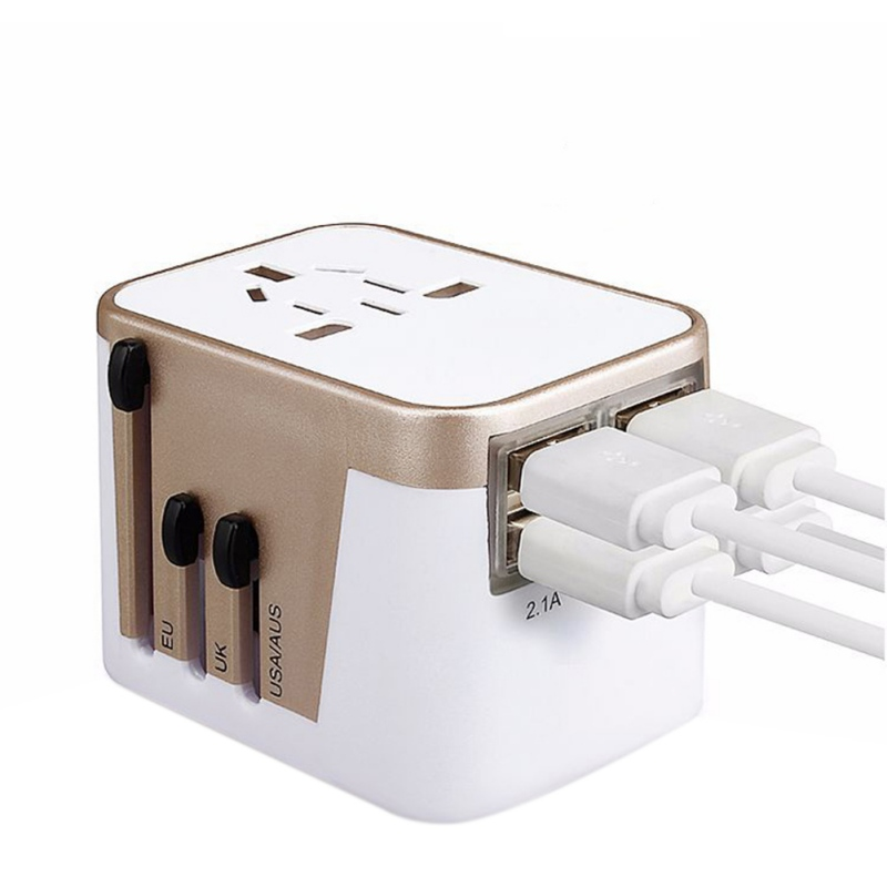 Four USB Conversion Global Multi-function Gift Travel Universal Functional Socket