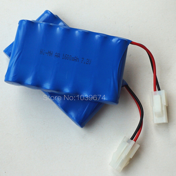 7.2V 1600MAH AA *6 Ni-MH Rechargeable chargeable Battery for Toys Power Source with Free Charger