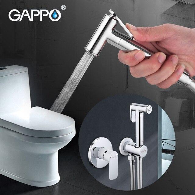 Gappo Смесители для биде латунь Ванная комната Душ кран биде гигиенический душ для унитаза биде туалет душ шайба смеситель душ ducha higienico