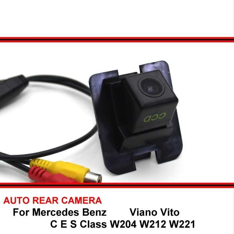 Dành Cho Xe Mercedes Benz C E S Class W204 W212 W221 Viano VITO Sau Xe Lên Bãi Đậu Xe Camera CCD HD camera Phía Sau Đảo Chiều Camera