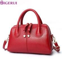 DIGERUI Women Bag Luxury Boston Bag bolsa feminina Casual Ladies Handbag Shoulder Bags European Style Female Tote Bag SC0494