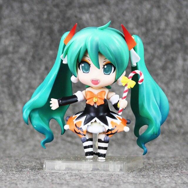 """Color box Hatsune Miku Halloween Nendoroid 448 PVC Action Figure Model Collection Toy 4"""" 10CM 1"""