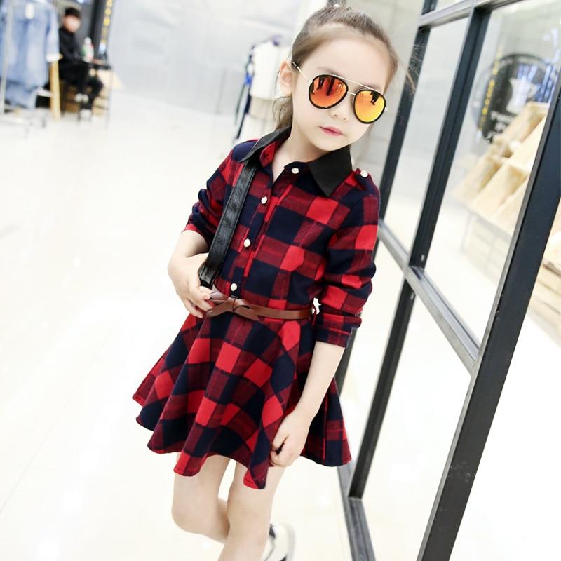 Plaid Dresses For Girls (9)