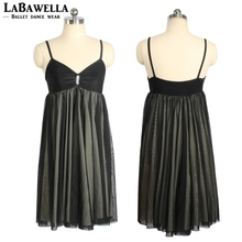 Top Quality Adult Ballet Dance Dress Wanita Practicing Skirt Leotard Lyrical Dress Ballet Performance DressSD4027