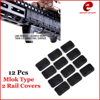 Element Tactical Mlok Type 2 Rail Covers EMag Pul TYPE For M Lok SLOT SYSTEM Rail