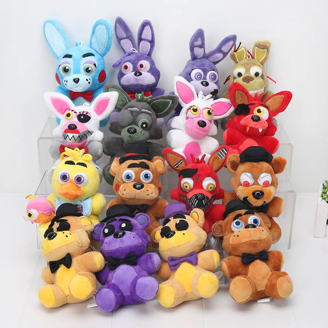 16pcs Five Nights At Freddy's Freddy Fazbear Bear Foxy