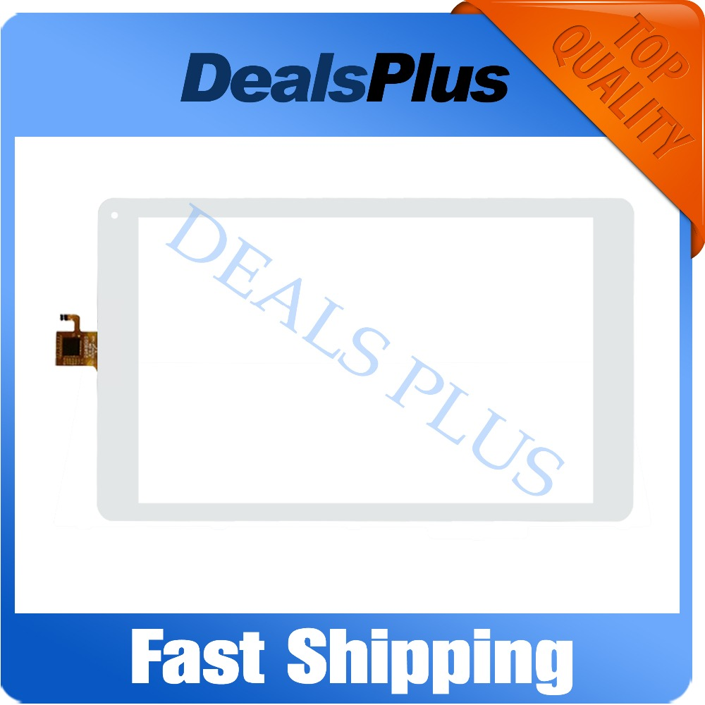 Replacement Touch Screen Digitizer Glass MF-862-101F FPC 10.1-inch White Free Shipping black white new touch screen digitizer panel glass sensor replacement for 10 1 tablet mf 595 101f fpc free shipping