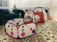 3Pcs/Set Play Tent Baby Toys Ball Pool for Children Tipi Tent Pool Ball Pool Pit Baby Tent House Crawling Tunnel Ocean Kids Tent