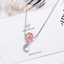 KOFSAC 925 Sterling Silver Necklace For Girl Jewelry Cute/Romantic Crystal Zircon Crescent Moon Women Party Accessories