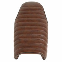 New Flat Brat Styling Motorcycle Brown Vintage Seat Retro Cafe Racer Saddle for Honda CB CL Custom High Quality