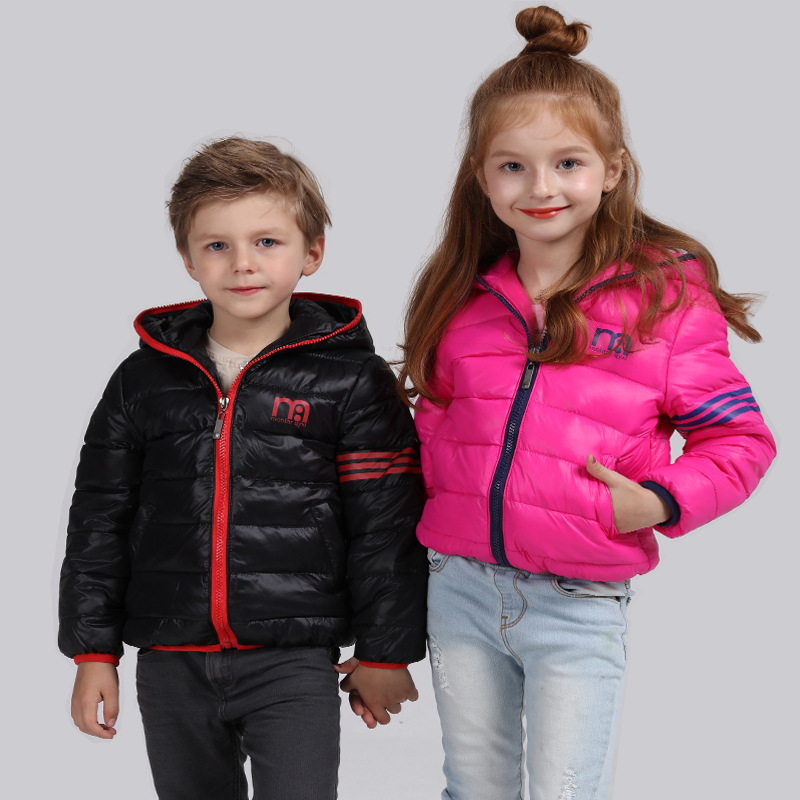2016 Christmas Kids Clothes Jackets Girls Spring Boys Winter Brands Warm Hooded Coats Parka White Duck Down Children Waterproof new winter baby girls clothes white duck down parka warm goose down jackets for kid warm long coats big fur hooded for children