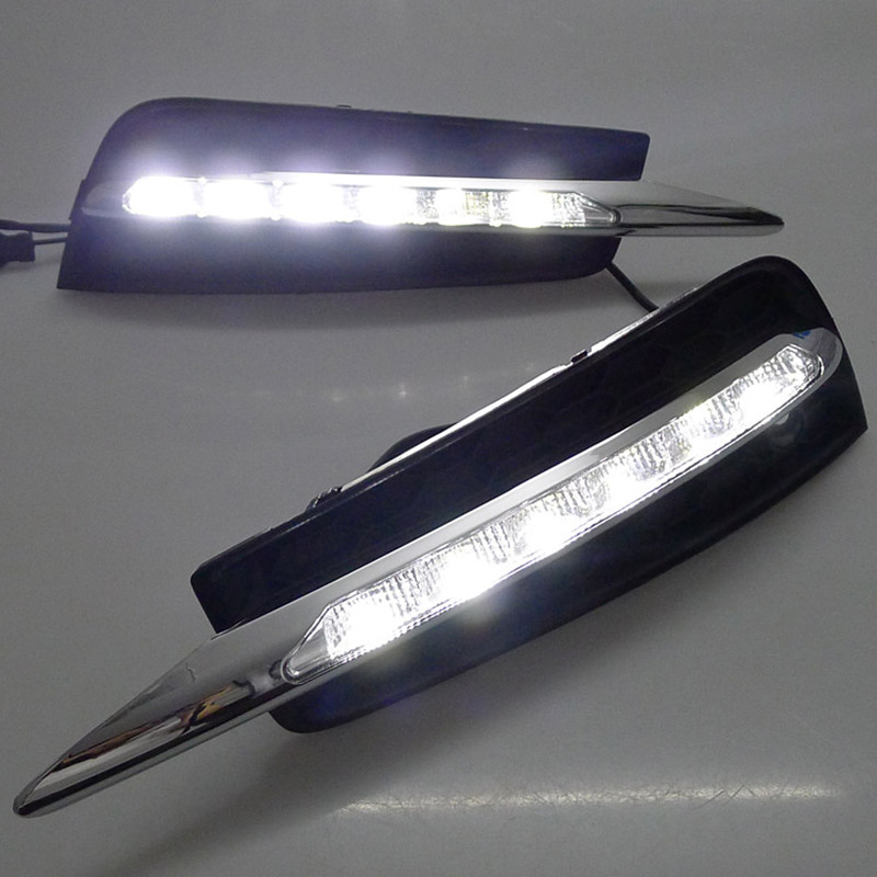 Night lord White  for Chervolet Cruze 2009-2013 Daytime Running Lights High Power Chip 6LED DRL Car LED DRL декор lord vanity quinta mirabilia grigio 20x56