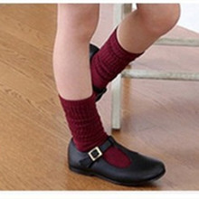 Global hot free shipping factory direct combed cotton solid color manual for Head boys and girls in tube socks