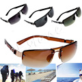 [LvDing] Fashion Men's Rectangular Sunglasses Fishing Aviator Shades Driving Eyewear