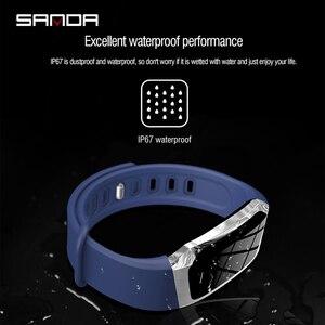 Image 5 - 三田 Bluetooth スマート腕時計女性スポーツウォッチ男性の心拍数モニター血圧フィットネストラッカースマートウォッチ ios アンドロイド