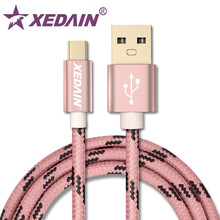 XEDAIN Type C 3.1 Cable For Samsung S8 Note 8 USB Type C Charger Cable For Huawei Xiaomi 4