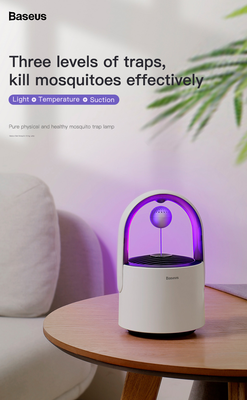 Baseus Star Mosquito Killer Lamp 4