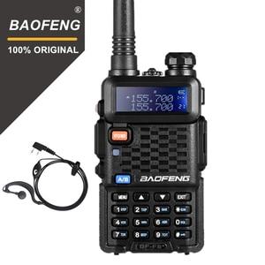 Image 1 - 100% Original BaoFeng F8+ Upgrade Walkie Talkie Police Two Way Radio Dual Band Outdoor Long Range VHF UHF Ham Transceiver