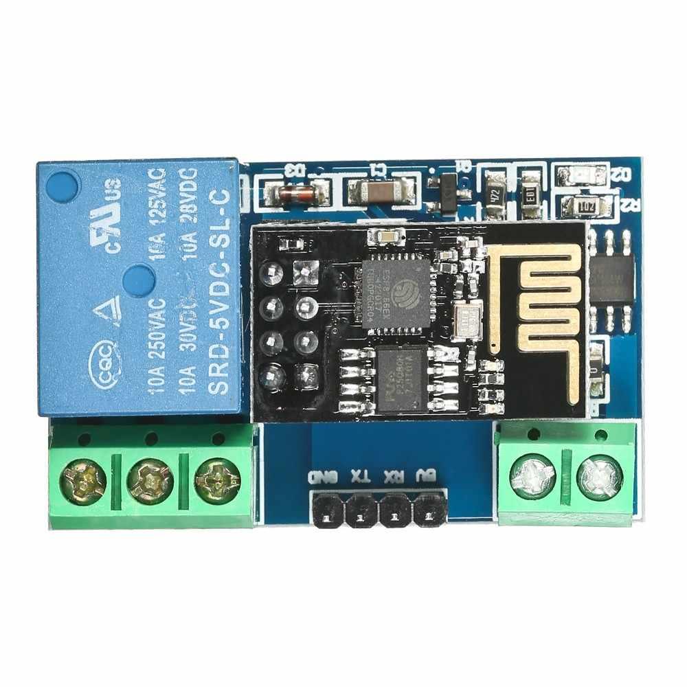 ESP8266 5 V Placa de módulo de relé Wi-Fi IOT Smart Home Control remoto Teléfono Móvil APP Control