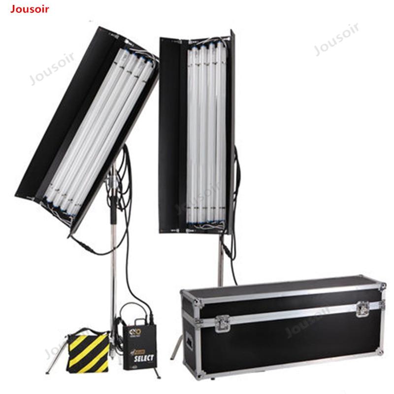 Lampe Aluminium box Air box 4 füße 4 rohr lange reihe gerade rohr kalt licht set Aluminium box kompatibel CD50 t03 - 3