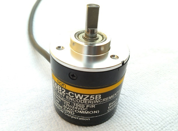 1800P/R Incremental Rotary Encoder (40-mm-dia.)E6B2-CWZ5B PNP ABZ 3 pahse Optical Encoder