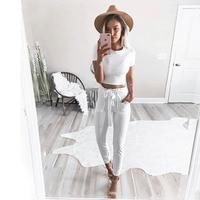 2017 new striped ol chiffon high waist harem pants women stringyselvedge summer style casual pants female.jpg 200x200