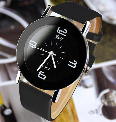 Leather Fashion Brand Bracelet Watches Women Men Ladies Quartz Watch Wrist Watch Wristwatch Clock Relogio Feminino Masculino
