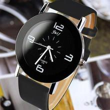 Leather Fashion Brand Bracelet Watches Women Men Ladies Quar