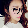 2015 New Brand Fashion Eyeglasses Fashion Optical Glasses Vintage Women Men Designer Plain Mirror Elegant Glasses Frame