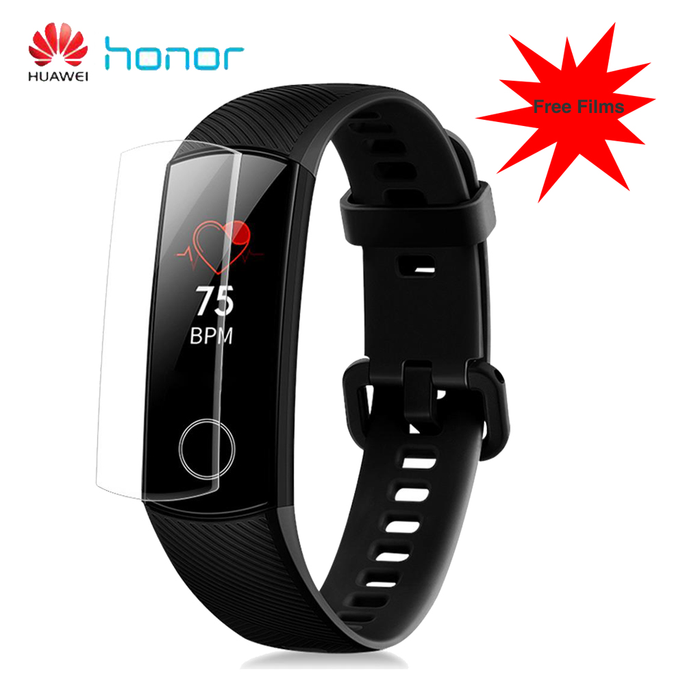 HUAWEI Honor Band 4 Smart Bracelet 0 95 Inch AMOLED Touch Large Color Screen 5ATM Heart