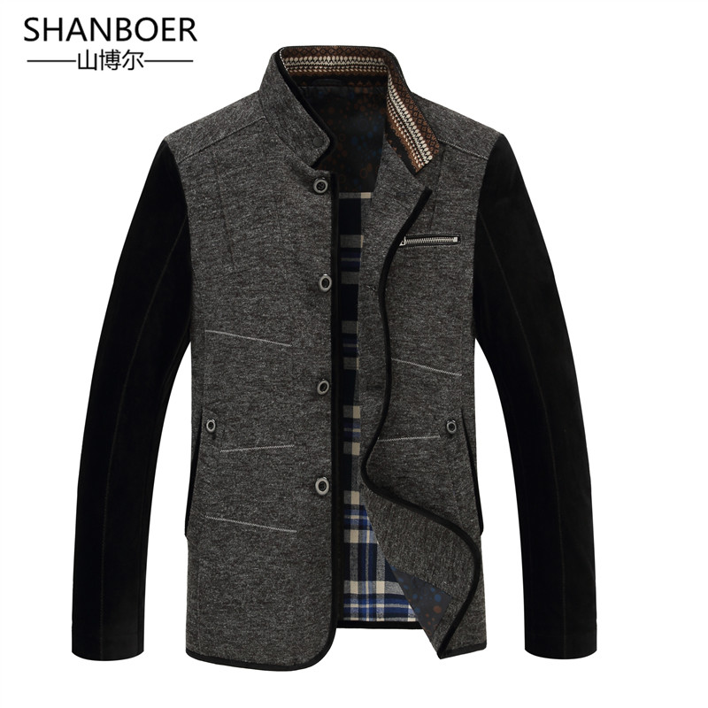 New Autumn Men Jacket And Blazer Spring Mens Suits Business Slim Coat Army Green Casual Male Jacket