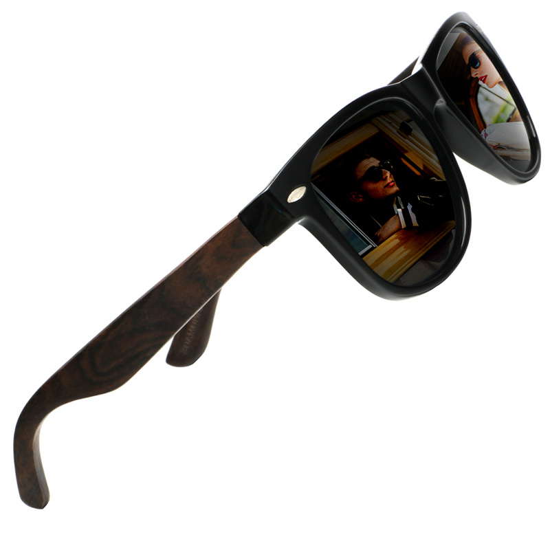 f9ea1e5c05 Ablibi Wood Sunglasses Polarized Shades for Mens Designer Driving Bamboo  Sunglasses Wooden Eyewear lentes de sol