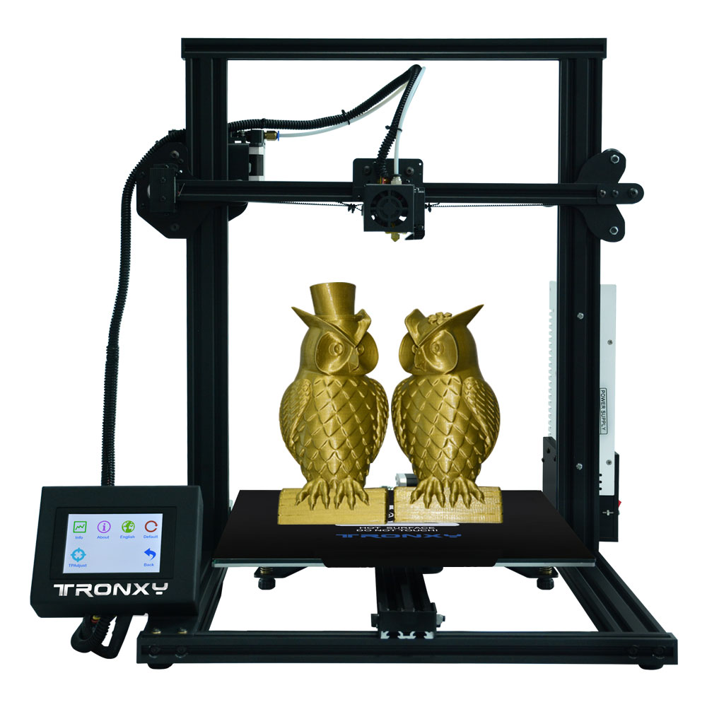 Newest Tronxy 3D printer XY-3 Touch Screen printer 3d Large Printing Size 310*310*mm hotbed Filament Sensor PLA as gift