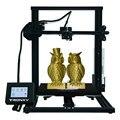 Più nuovo Tronxy 3D stampante XY-3 Touch Screen della stampante 3d di Grande Formato di Stampa 310*310 * mm focolaio Filamento Sensore PLA come regalo