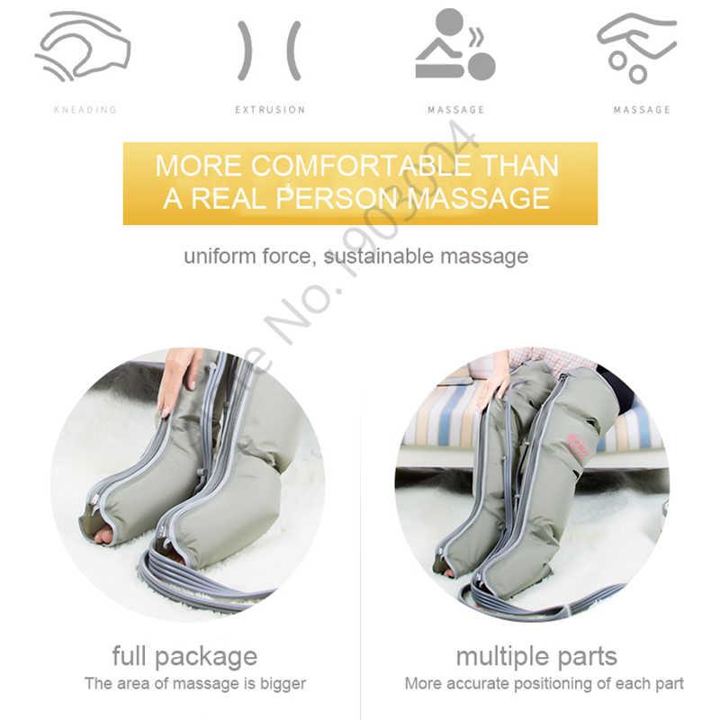 Atmungsaktive Air Bein Massager Ältere Automatische Pneumatische Kalb Massage Instrument Air Welle Therapie Gas Druck Fuß Maschine