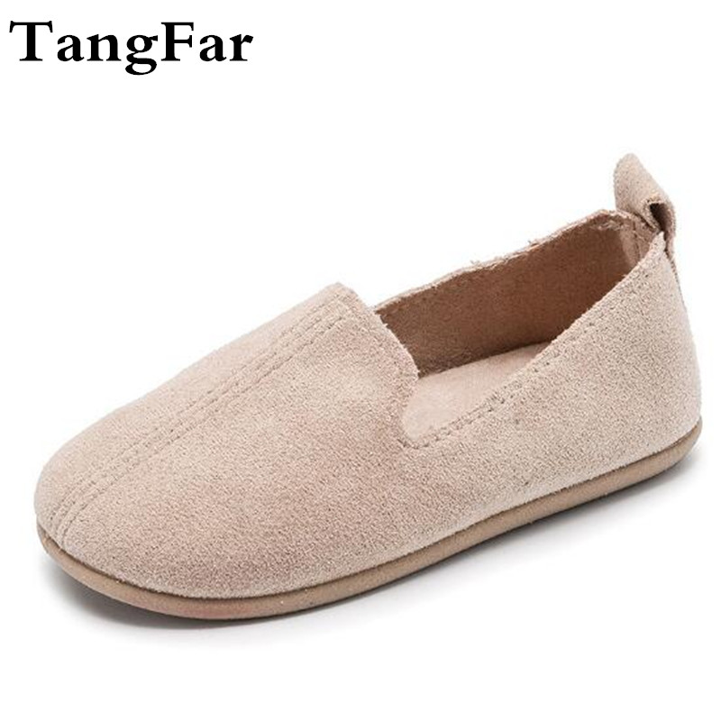 New Arrival 2019 Leather Kids Moccasins Princess White Baby Girls Shoes Soft Causal Flats For Toddler Children Shoes