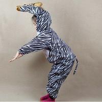 Nieuwe Animal Kostuum voor Kids Cartoon Zebra Thema Anime Cosplay Kleding Jumpsuits Jongen Meisjes Nieuwjaar Kostuums Party Nieuwjaar
