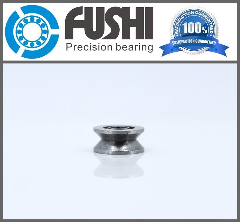 High Carbon Steel V623ZZ (20 Pcs) V Groove Sealed Ball Bearing 623VV Guide Track Roller Bearing V623 Embroidery Machine Bearing v623zz 623vv 623 v groove deep groove