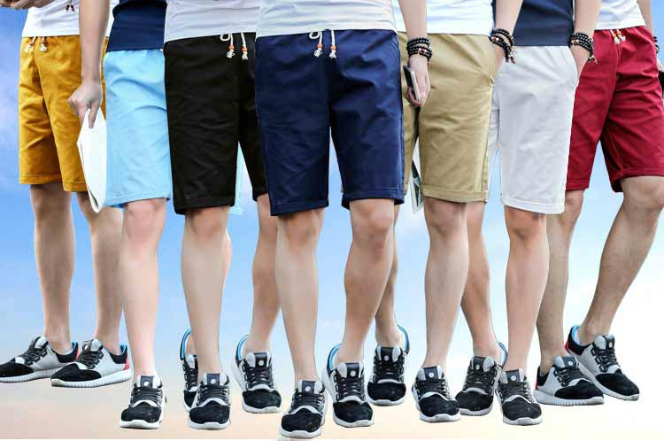 2018 NEW Summer Cotton Shorts Men Fashion Brand Board shorts Breathable Male Casual Shorts Comfortable Plus Size Cool Short